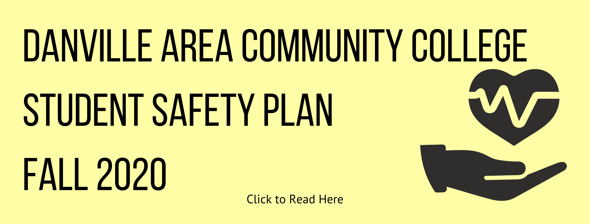 DACC Student Safety Plan Fall 2020